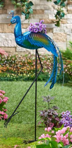 Peacock Yard Decorations Metal Planter Pot Outdoor Garden Stake Statue Ornament Peacock Yard Decorations Metal Planter Pot Outdoor Garden Stake Statue OrnamentStake this https://trickmyyard.com/product/peacock-yard-decorations-metal-planter-pot-outdoor-garden-stake-statue-ornament/