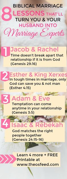 Married life one of the best gifts God ever gave. It can also be as difficult as it is full of joy. What great practical tips from the Bible on marriage. Whether you are planning your wedding or have been married for years.
