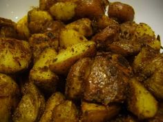 Aachari Aloo recipe. A quick and easy potato dish with the bold flavors of pickling spices. Posted by Asma.