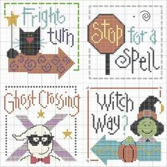 This unique photo is definitely a very inspiring and good idea Fall Cross Stitch, Cross Stitch Beginner, Cross Stitch Quotes, Cross Stitch Boards, Cross Stitch Bookmarks, Mini Cross Stitch, Cross Stitch Needles, Cross Stitch Heart, Modern Cross Stitch Patterns
