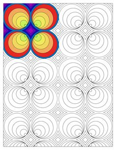 adult coloring page advanced coloring page by TheColoringAddict