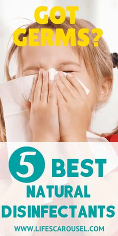 5 BEST Natural Disinfectants to disinfecting house after sickness! Natural cleaner recipes to beat cold and flu germs. How to use essential oils, hydrogen peroxide, rubbing alcohol and more to kill viruses and bacteria. Disinfect Your House Today! Household Cleaning Tips, Deep Cleaning Tips, House Cleaning Tips, Natural Cleaning Products, Cleaning Solutions, Cleaning Hacks, Spring Cleaning, Cleaning Schedules, Speed Cleaning