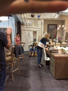 Am Set von Rizzoli & Isles