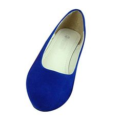 Maybest Women Comfortable All Match Suede Point Head Casual Flat Pumps Ladies Work Girls School Dolly Shoes ( Royal Blue 8 B (M) US ) Maybest http://www.amazon.com/dp/B010Q5IJKQ/ref=cm_sw_r_pi_dp_9F12wb1N7XXCF
