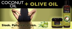 Extra virgin olive oil provides a smooth finish and lush softness, for more manageable hair. Coconut oil is a natural conditioner that bonds with protein in the hair shaft to strengthen hair and reduce breakage. Olive Oil Hair, Hair Oil, Strengthen Hair, Hair Treatment Mask, Lush, Coconut Oil, Natural Hair Styles, Protein, Conditioner