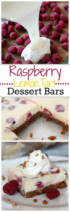 Fresh Raspberry Lemon Tart Bars are everything you are looking for in the perfect dessert. Sweet, Tart and a creamy smooth texture . |Real Life Dinner ~ http://reallifedinner.com
