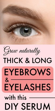 625d81d7c82 DIY Eyelash and Eyebrow growth serum, Help to grow and thicken eyebrows and eye  lashes