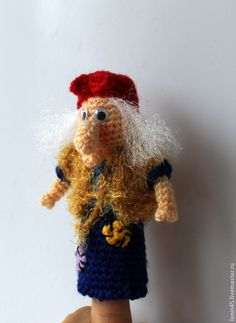 Купить Пальчиковый театр Сестрица Аленушка - пальчиковый театр, пальчиковые игрушки, пальчиковые куклы, сказка