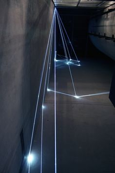 Italian artist Carlo Bernardini creates impressive light installations