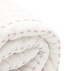 BaBu Cot Quilt White/Pink Boxed Cot Quilt, Quilts, Pharmacy, Bean Bag Chair, Baby Gifts, Gift Ideas, Pink, Home Decor, Patch Quilt