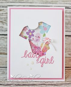 Super Baby Girl Cards To Make Ideas Children Ideas Baby Thank You Cards, Baby Girl Cards, New Baby Cards, Congratulations Baby Card, Baby Gift Wrapping, Karten Diy, Baby Presents, Cricut Cards, Baby Shower Cards