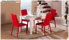 Mondi-Mutfak-Masa-KırmızıRiga-Sandalye-yeni-tasarim