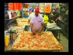 """For the Record: Largest Pizza Commercially Available (As Seen on """"Offici...@bigmamasizza #BMPP #WorldsLargestPizza"""
