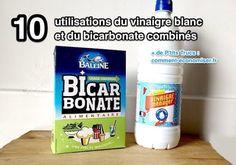 10 façons d'utiliser le vinaigre blanc et le bicarbonate de soude pour tout laver à la maison