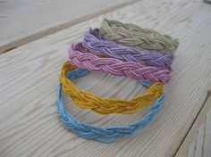 Hemp Turks Head Sailor's Rope Bracelet - from TheJetty on Etsy $6  #jewelry #diy #craft