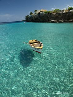 Might have to visit here! Water like glass, Curacao