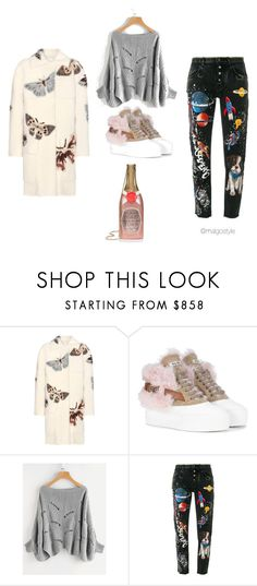 """""""Untitled #59"""" by nerdygets on Polyvore featuring Valentino, Miu Miu and Dolce&Gabbana"""