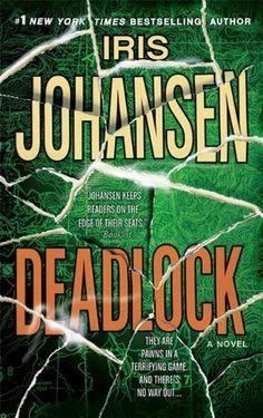 Deadlock by Iris Johansen, http://www.amazon.com/dp/B002GYI93I/ref=cm_sw_r_pi_dp_AAh7rb095KYNT