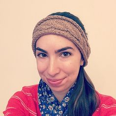 Knitting Patterns Galore - Cable Headband
