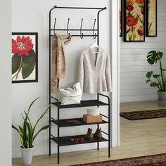 Shop Online And Save. Furnish Your Home In Style With These Furniture Secrets. Buying furniture for your home can be loads of fun or a nightmare. Entryway Bench Storage, Bench With Storage, Storage Benches, Shoe Storage, Storage Ideas, Entryway Hall Tree, Entryway Decor, Narrow Hall Tree, Rustic Entryway