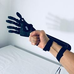 An extension of the Hand . #bionic #robot #design #DIY #industrialdesign #prosthetics #3dprint #3D #3dmodel #cyborg #mechatronics #medical #technology #maker #arduino #RaspberryPi #mechanics