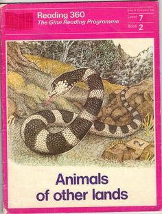Animals of other lands Ginn 360 level 7 book 2 (Ginn Reading Books, Books To Read, Repetition Of Words, Well Thought Out, The Old Days, Little Books, My Memory, Book Series, Fun Stuff