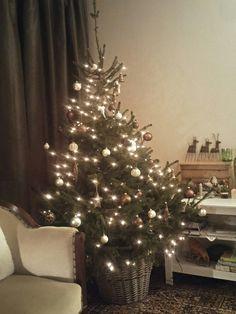 Kerst in natureltinten.