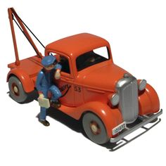 29059 / 2118059 - The breakdown truck Autocart / de kraanwagen van Samoen - Kuifje en het zwarte goud