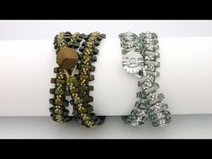 Video:  TheHeartBeading: Wrap Bracelet with Rullas and Triangle Beads - #Seed #Bead #Tutorials