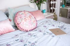 A girly bedroom update - Sartorial Scot Bedding, Girly, Autumn, Bedroom, Interior, Pretty, Image, Furniture, Home Decor