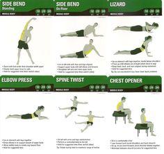 Middle Body Stretch 2