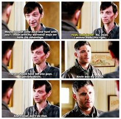 """""""Kevin was my friend, and friends don't do that."""" 