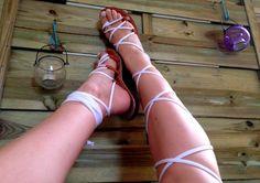 Gladiator Sandals - Urban Snow White