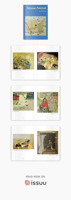 TATYANA PALCHUK - my artistic diary  Personal book about Tatyana Palchuk art ISBN 9788885862067 format 15x21 cm