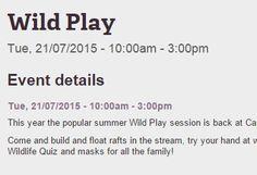 Wild Play | Gloucestershire Wildlife Trust