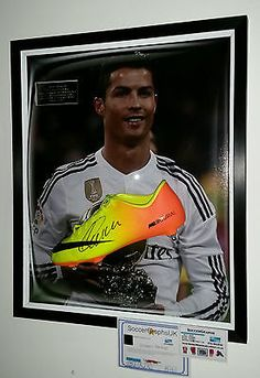 ** new 2015 #cristiano ronaldo of real madrid #signed football boot #display ***,  View more on the LINK: 	http://www.zeppy.io/product/gb/2/252408246705/