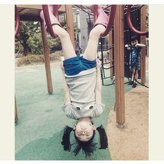 Upside down  regram from @gianna__mom #bobochoses