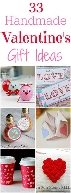 33 Handmade Valentine's Day Gift Ideas