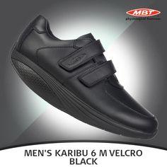 38eb556d73c5 MBT Men s KARIBU 6 M Velcro Black Shoe   Men s KARIBU 6 M VELCRO BLACK  styled