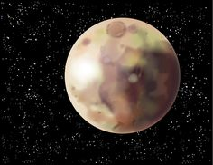 (Dwarf) Planet Pluto~