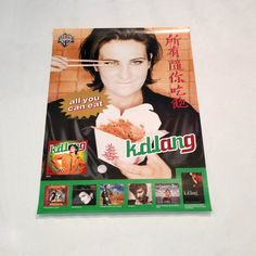 kd Lang Poster Vintage k d Lang 1995 All You Can by MohawkMusic