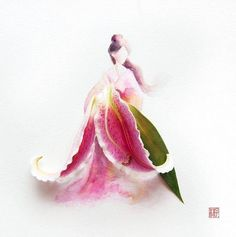 flower hanbok!