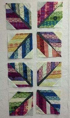 String quilt leaves