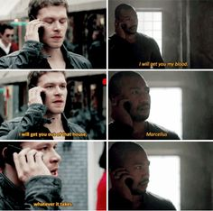 """#TheOriginals 2x11 """"Brotherhood of the Damned"""" - Klaus and Marcel"""