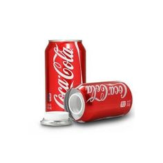 Coca Cola Stash Blik is een opbergblik van het échte merk Coca Cola