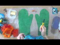 ZaДело! на TVJAM Мастер класс валяние варежек - YouTube