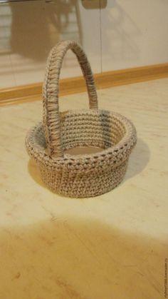 Превращаем пластиковую банку в корзиночку - Ярмарка Мастеров - ручная работа, handmade