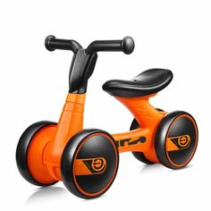 New Children Three Wheel Balance Bike Scooter Baby Walker Portable Bike No Foot Pedal Bicycle Baby Walker Tricycle Riding Toys In Short Supply Activity & Gear