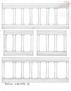Paper Parthenon Printable Images for Project