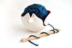 Ciotola per le sfere di ceramica o ceramica lana di Barruntando